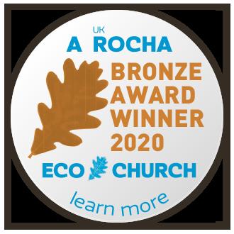 Eco Church Bronze Award Winner 2020