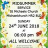 Midsummer Service at Michaelchurch