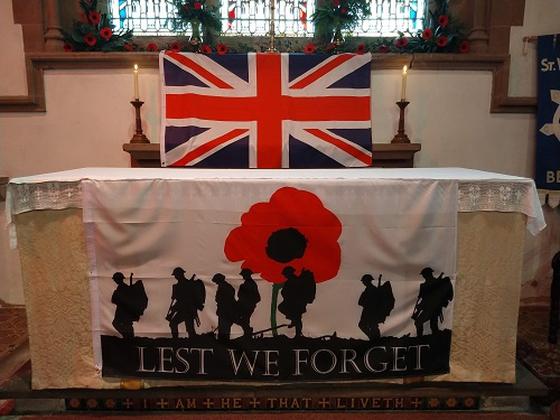 WW1 Exhibition at St Weonard's Church